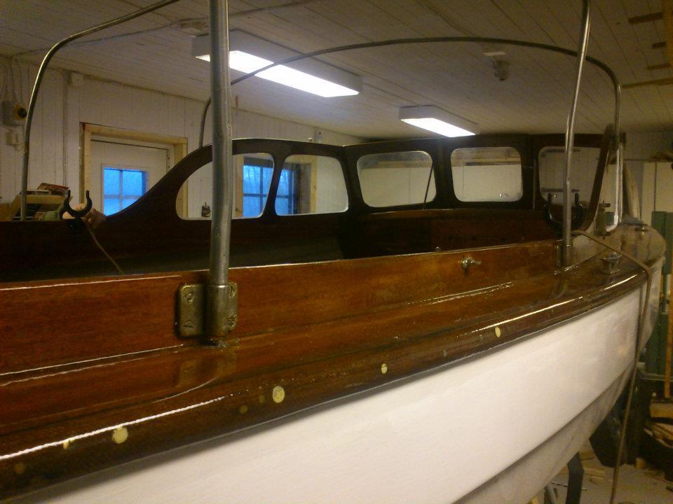 Projekt båtrenovering