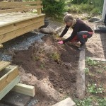 Stina - Trädgårdsförvandling