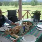 Marianne fixade fina och goda lunchen! Tack!