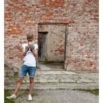 Jag bara älskar denna mur Orangeriet Karslund