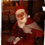 Tomten kom även denna jul