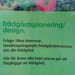 Trädgårdsplanering / Design