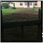 ..till lättskött gårdsrundel av befintliga perenner!