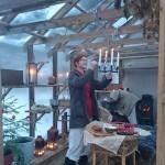 Adventsmys i Kickis växthus