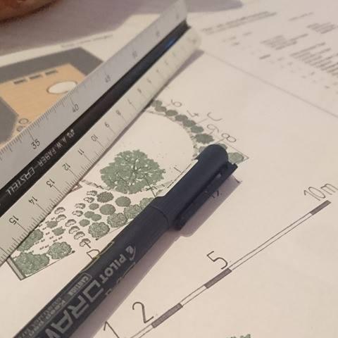 Trädgårdsritningar - Design!